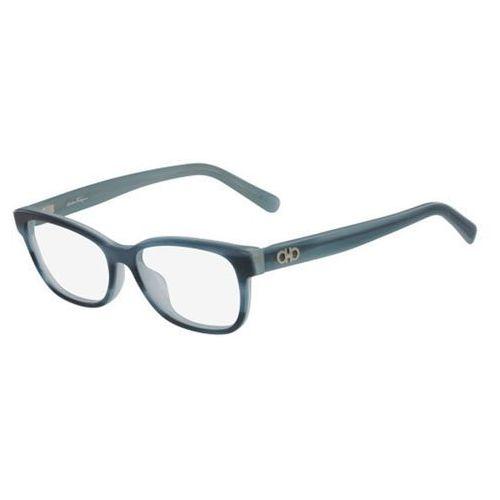 Salvatore ferragamo Okulary korekcyjne sf 2788 323