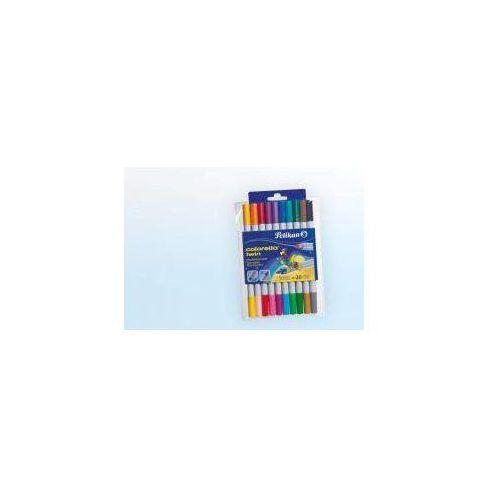 Flamastry 10 kolorów Colorella-Twin (4012700949516)