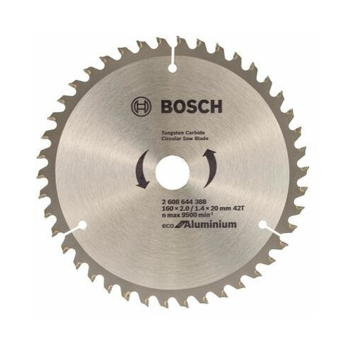 Tarcza do pilarki Eco for Aluminium śr. 160.0 mm 42T BOSCH (3165140891097)