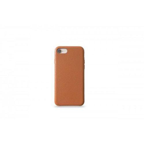 KMP Leather Case do iPhone 7/8 skórzane brązowe, kolor brązowy
