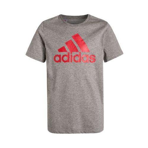 adidas Performance ESSENTIALS Koszulka sportowa core heather/vivid red