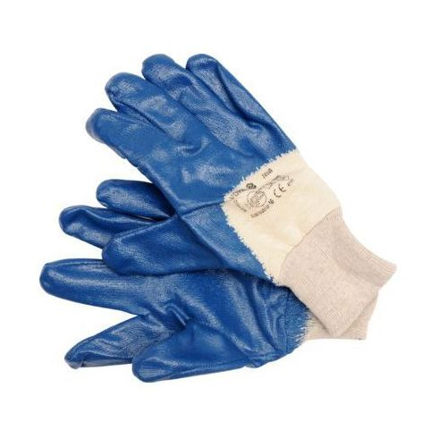 Rękawice robocze 74140 niebieski (rozmiar 10) marki Vorel