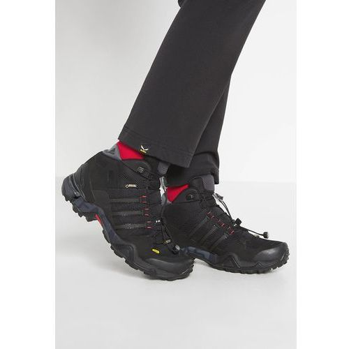 adidas Performance TERREX FAST R GTX Buty trekkingowe core black/dark grey/power red, towar z kategorii: Trekking i Nordic walking