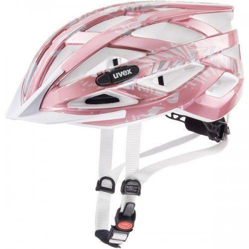UVEX kask rowerowy Air wing 52-57 cm różowo-biały