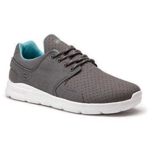 Sneakersy - scout xt 4101000459 dark grey/white 067 marki Etnies