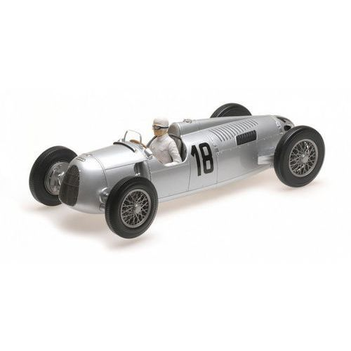 Auto union typ c #18 bernd rosemeyer winner internationales eifelrennen 1936 marki Minichamps