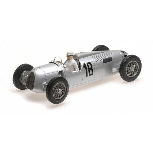 Minichamps Auto union typ c #18 bernd rosemeyer winner internationales eifelrennen 1936 (4012138141520)
