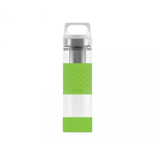 Termos szklany wmb z zaparzaczem hot & cold glass 400 ml (zielony) marki Sigg