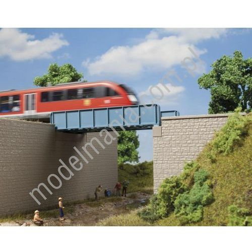 Most z dźwigarów blaszanych Auhagen 11441 (4013285114412)