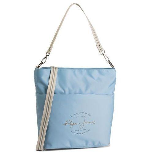 Torebka PEPE JEANS - Shopping 7227662 Azul/Blue