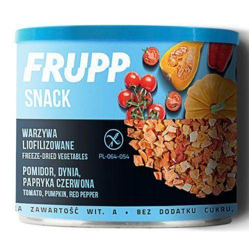Frupp Snack warzywa liofilizowane pomidor, dynia, papryka 30g