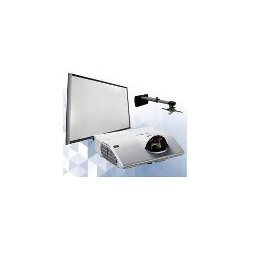 Smartboard Zestaw! tablica interaktywna smart sbm680 + projektor hitachi ultrashort cp-ax2504 z uchwytem