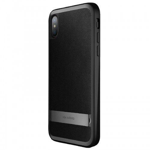 stander - etui z podstawką iphone x (black) marki X-doria
