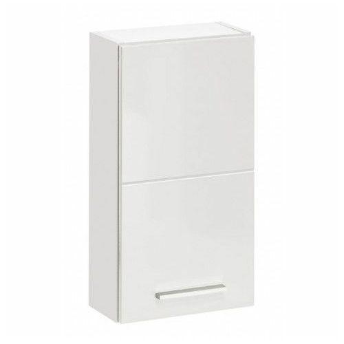 Producent: elior Wisząca szafka lazienkowa - malaga 5x biały połysk