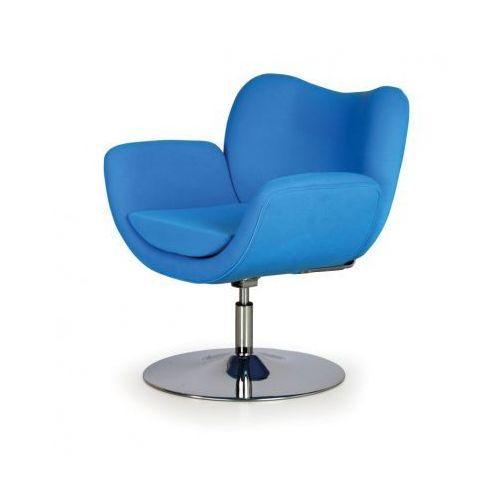 Fotel konferencyjny smile, niebieski marki B2b partner