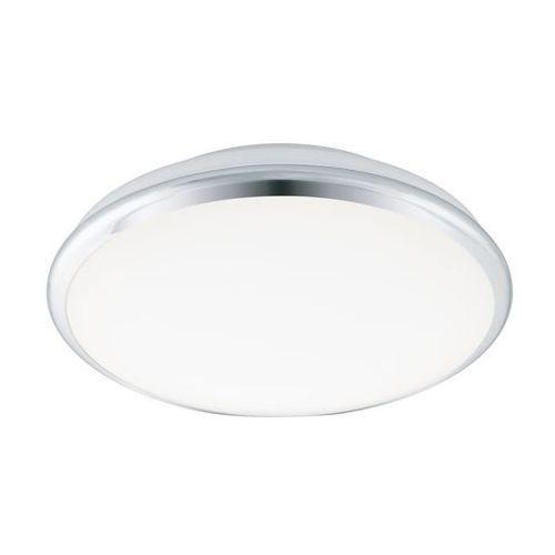 Plafon Eglo Manilva-S 95551 lampa oprawa sufitowa 1x18W LED biały/chrom, 95551