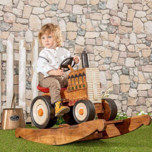 bujak tractor, 45x100x68cm marki Dekoria