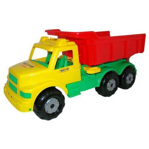 Wader quality toys Wader qt wywrotka nr1 buran zółto-czerwona