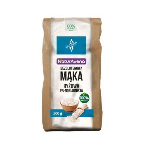 500g mąka ryżowa pełnoziarnista bezglutenowa marki Naturavena