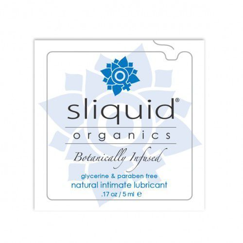Tester SASZETKA lubrykant - Sliquid Organics Natural Lubricant Pillow 5 ml