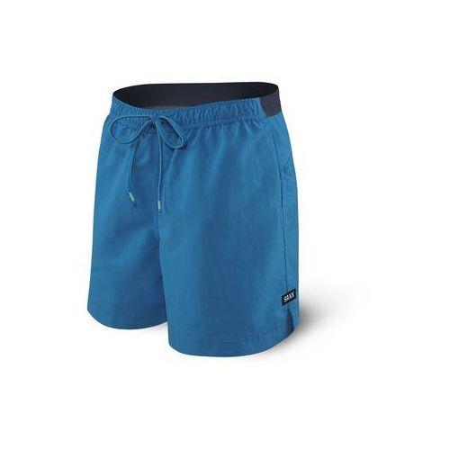 Saxx Spodenki męskie cannonball 2n1 short - niebieski