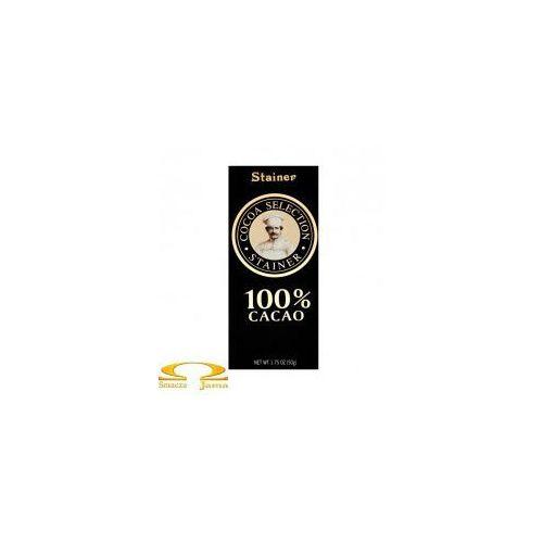 Czekolada 100% kakao marki Stainer