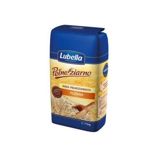 LUBELLA 1kg Pełne Ziarno Mąka pełnoziarnista pszenna (5900049000359)
