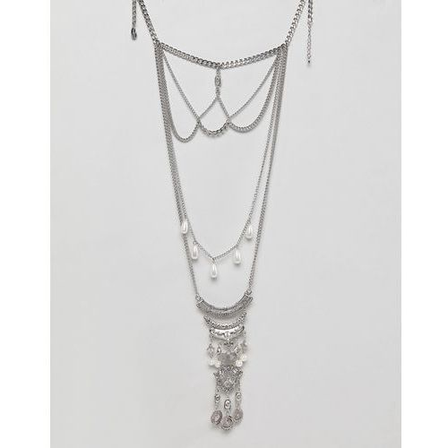 coin & pearl layering necklaces - silver marki Liars & lovers