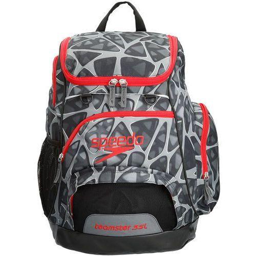 Speedo teamster plecak pływacki 35l szary/czerwony 2018 plecaki i torby pływackie