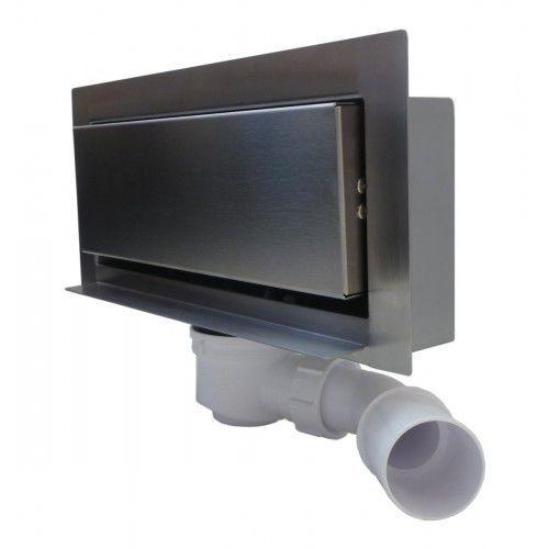 modern odwodnienie ścienne 30 cm pastikowy syfon 300kgf_p marki Kesmet