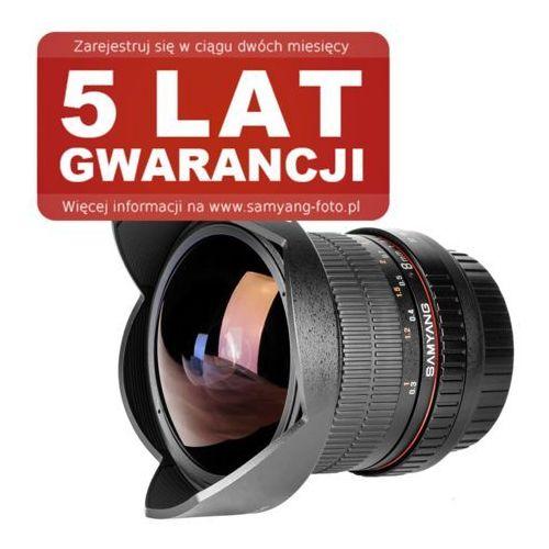 Samyang 8 mm f/3.5 CS II Fish-eye Sony - produkt w magazynie - szybka wysyłka! z kategorii Obiektywy fotograficzne