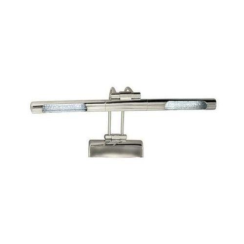 Kinkiet lampa ścienna hl652 01665 regulowana oprawa metalowa nad lustro chrom marki Ideus
