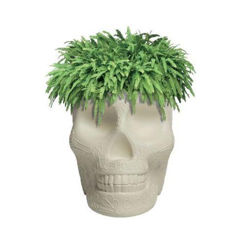 czaszka mexico planter kość słoniowa 70007av marki Qeeboo