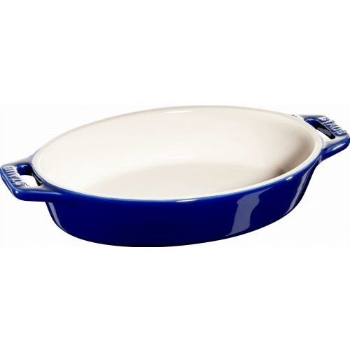 Staub naczynie do pieczenia owalne ciemnoniebieskie 17cm (4009839317217)