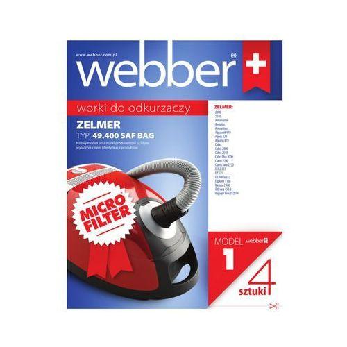 Webber Worek do odkurzacza 1 (4 sztuki)