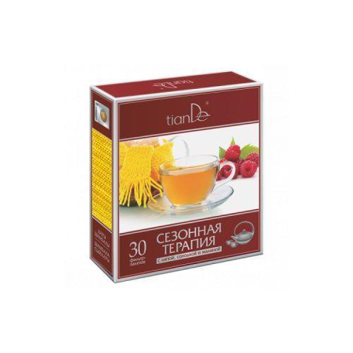 Tiande Ziołowa herbata z lukrecją, kwiatami lipy i malinami 30 saszetek 123926 (4650061391218)
