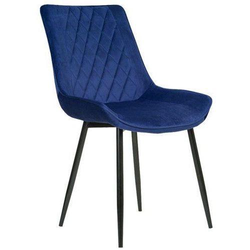 Emwomeble Nowoczesne krzesło tapicerowane ▪️ belini (dc-6020) ▪️ welur zielony