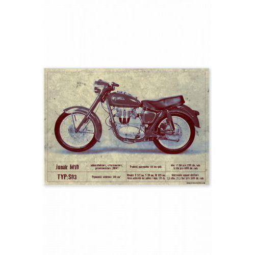 "Plakat metalowy ""junak m10"" marki Steel poster"