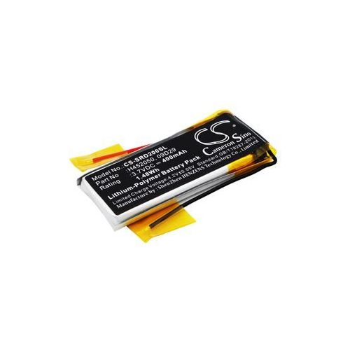 Cardo Q2 / 09D29 400mAh 1.48Wh Li-Polymer 3.7V (Cameron Sino)