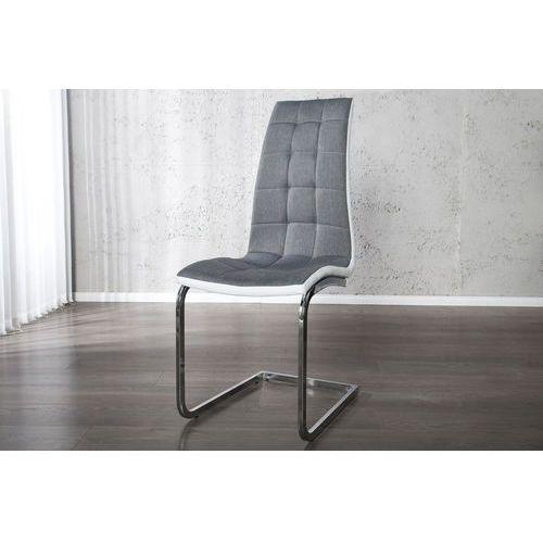 Krzesło Porto szare - szare, kolor szary