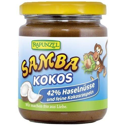 Rapunzel (kremy orzechowe, kostki, ketchupy, inne Krem orzechowo - czekoladowy z kokosem samba bio 250 g - rapunzel