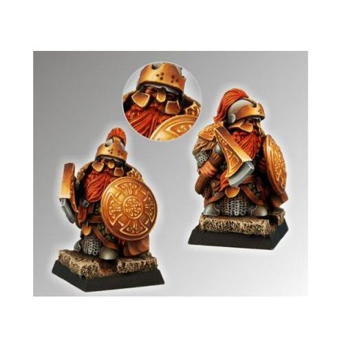 Scibor 28fm0026 - dwarf ducal guard #5 28mm marki Scibor miniatures
