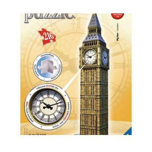 216 ELEMENTÓW 3D Big Ben z zegarem