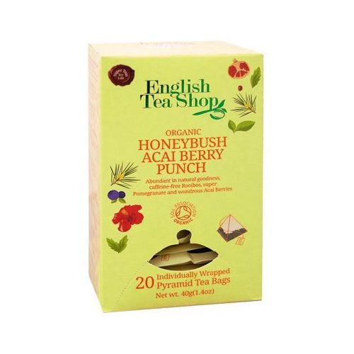 ETS Organic Honeybush Acai Berry Punch 20 piramidek