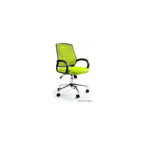 Krzesło biurowe Award zielone, W-120-9
