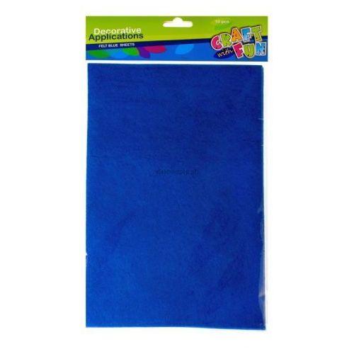 Filc A-4 niebieska 310621, 268903