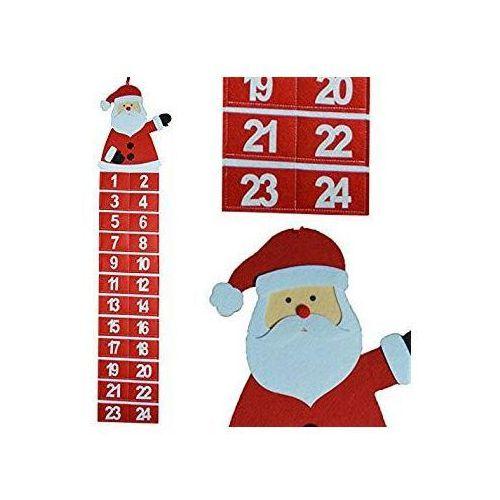 Kalendarz Adwentowy Mikołaj z laseczką