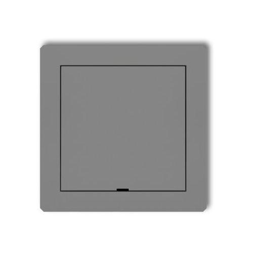 KARLIK DECO 7DRPZ Ramka pośrednia z zaślepką srebrny metalik (5901832004288)