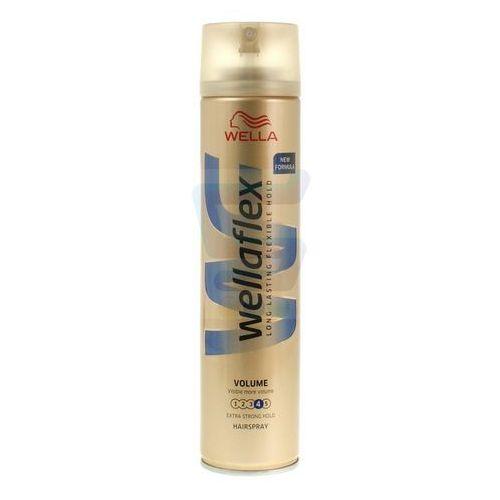 Lakier do włosów Wella Wellaflex Większa objętość Bardzo mocno utrwalający 250 ml (4056800674305)