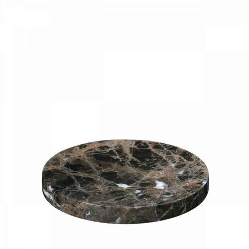 Blomus - podstawka marmurowa - 19 cm - pesa - brązowa (4008832776458)